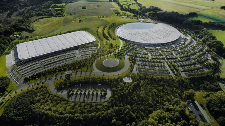 McLaren centres its operations in Woking, Surrey. Pic: McLaren