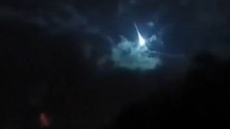 Bright meteor spotted over Pennsylvania and Ohio