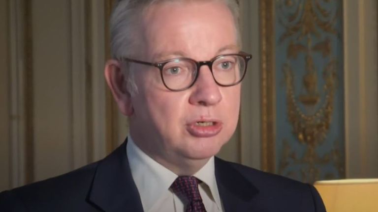 Michael Gove says clauses which some in the EU have issues with in the Internal Market Bill will stay in the bill