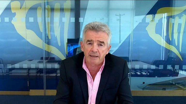 Michael O'Leary, Ryanair chief executive