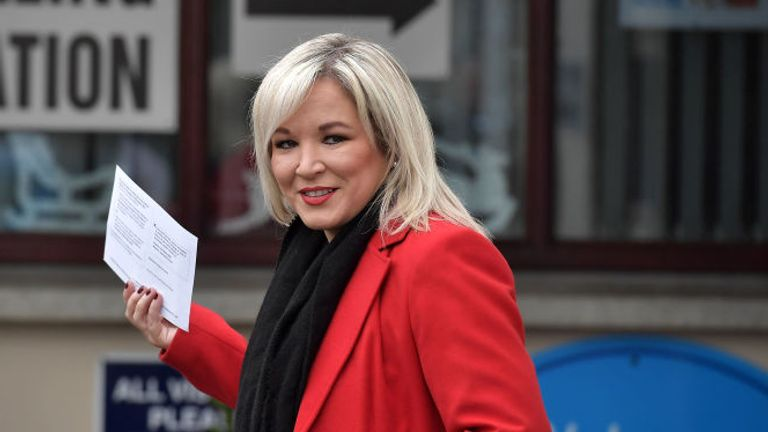 Northern Ireland deputy First Minister Michelle O'Neill has said the reported plans represent a 'treacherous betrayal'
