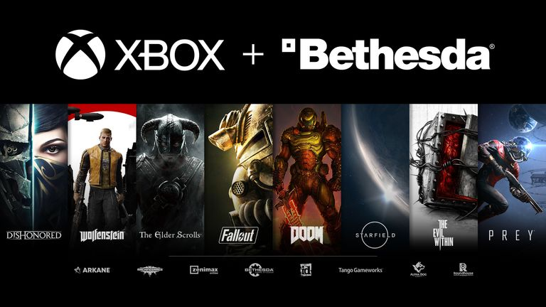 Microsoft buys games developer ZeniMax, parent company of Bethesda. Pic: Microsoft