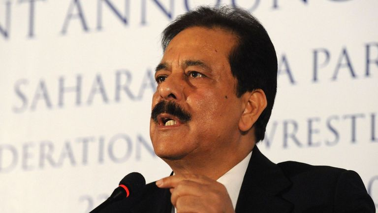 Subrata Roy is the chairman of the Sahara Group - a multi-billion dollar company covering real estate, media and retail.