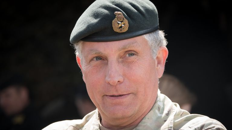 General Sir Nicholas Carter says the armed forces need to 'fundamentally change'