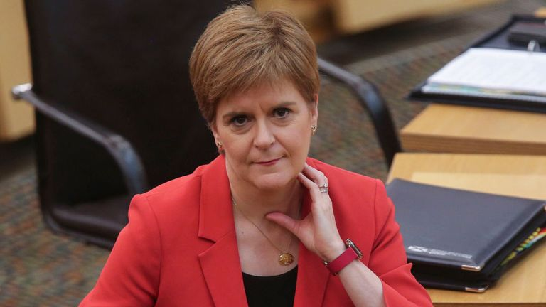 First Minister Nicola Sturgeon has branded the Conservative government 'charlatans'