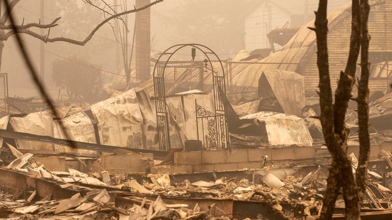 Thousands of people near Salem, Oregon, have no idea if their homes will still be standing when they return