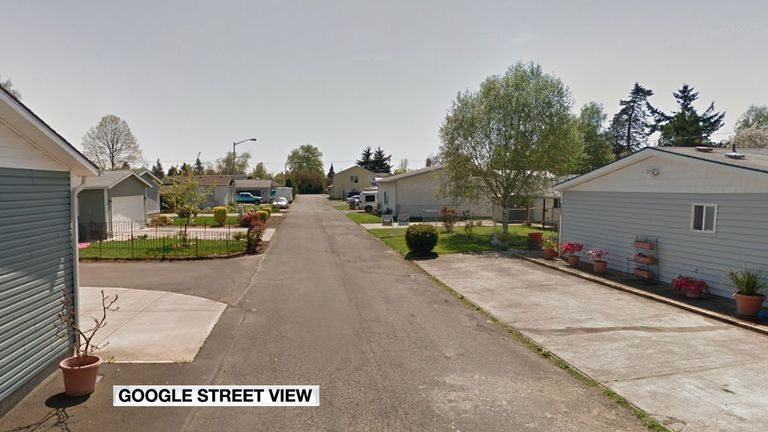 Juneva Place Southeast in Salem, where the incident took place. Pic: Google Maps