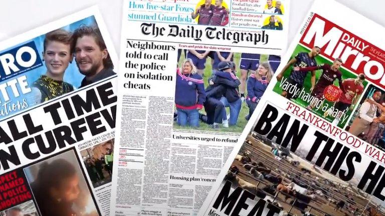 papers fan