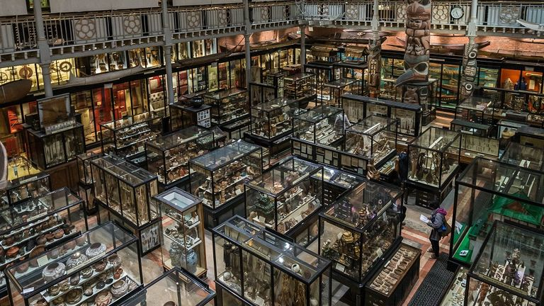 Pitt Rivers Museum at Oxford University. Pic: Ian Wallman