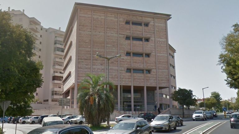 Portimao court. Pic: Google Streetview