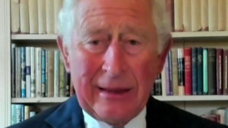 Prince Charles warns the UN over climate change