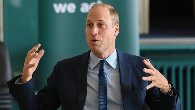 Prince William in Belfast