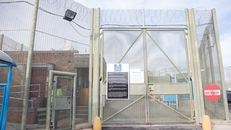 Prisoners were forced to use buckets as toilets at HMP Erlestoke