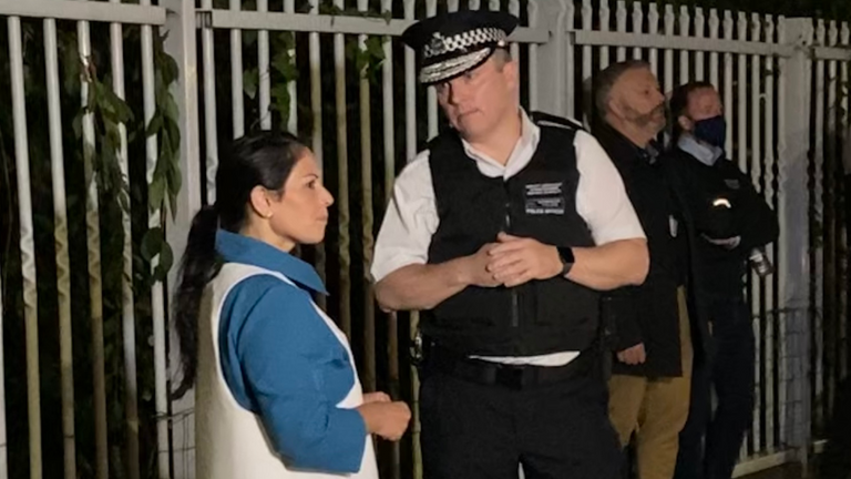 ​Home Secretary attends County Lines operation