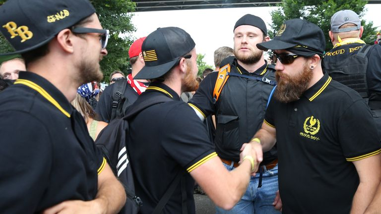 Fred Perry has stopped shipping black and yellow polo shirts to the US after the item became identified with Proud Boys