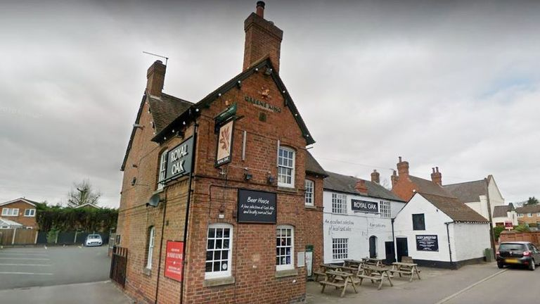 Twelve people were infected with COVID-19 after a graduation party took place at the Royal Oak pub