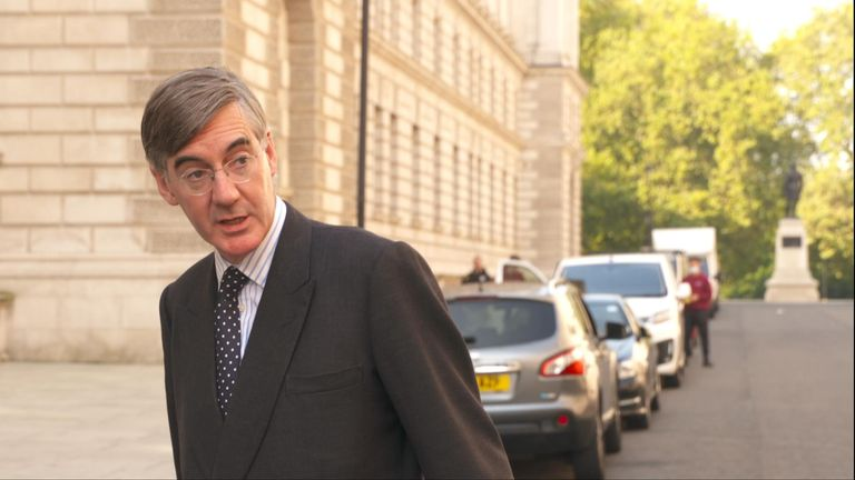 Leader of the House Jacob Rees-Mogg defends to governments record on coronavirus testing