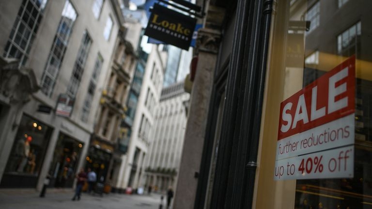 Retailers have been discounting in a bid to lure shoppers back