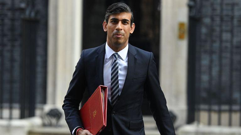 The chancellor, Rishi Sunak