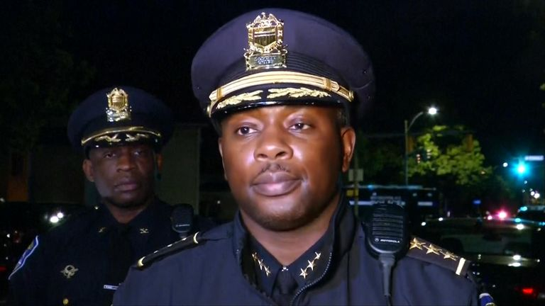 Rochester Police Department interim police chief Mark Simmons
