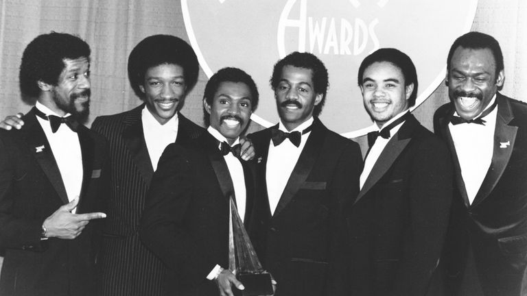 Kool & The Gang at the 1982 American Music Awards