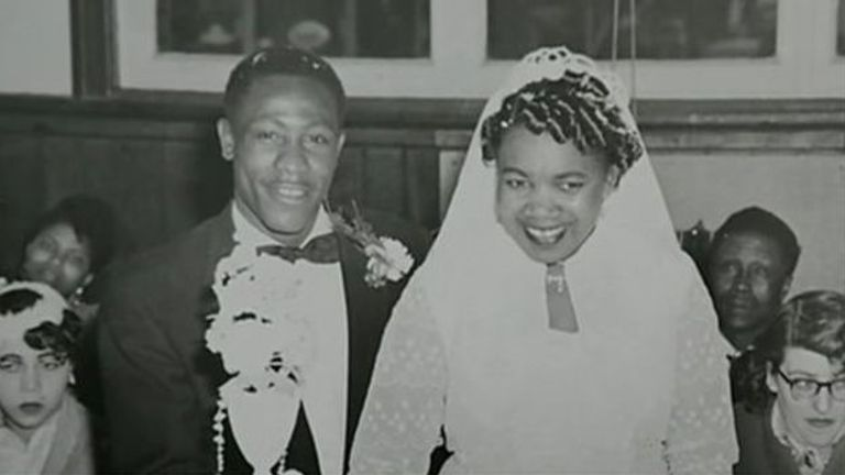 "On the same day as Martin Luther King Jr's ""I have a dream"" speech, Roy Hackett and two other black men organised a series of protests in Bristol that paved the way for the first Race Relations Act in Britain. Picutered is Roy with late wife Ena. Pic: Emailed in by Noel Phillips"