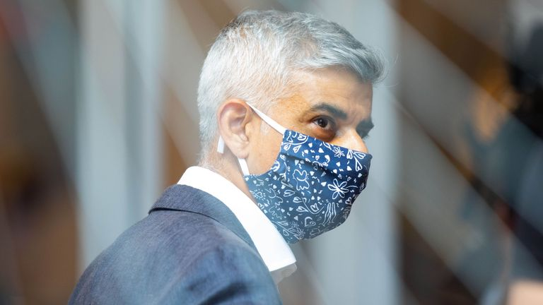 Sadiq Khan has called for the business rates holiday to be extended