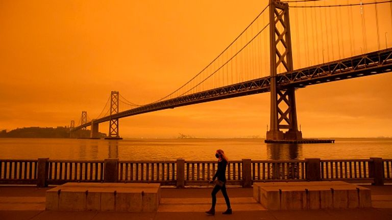 San Francisco has seen apocalyptic-looking skies