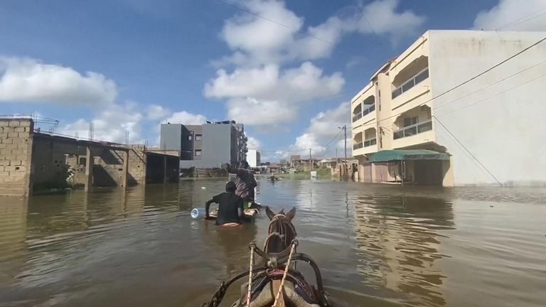 Heavy rains have hit the Sahel regions of West and Central Africa leading to devastating floods that have killed dozens