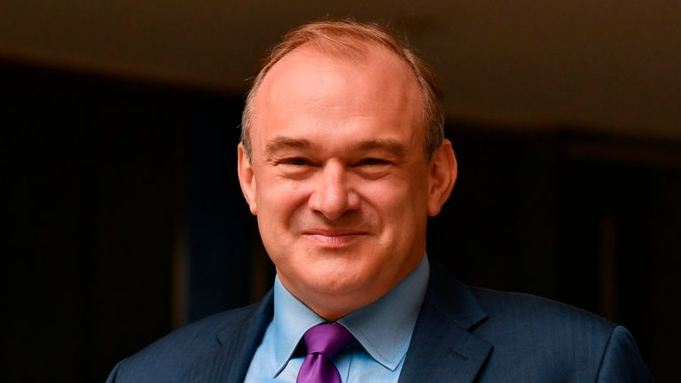 Sir Ed Davey said his party's MPs won't back the new COVID laws