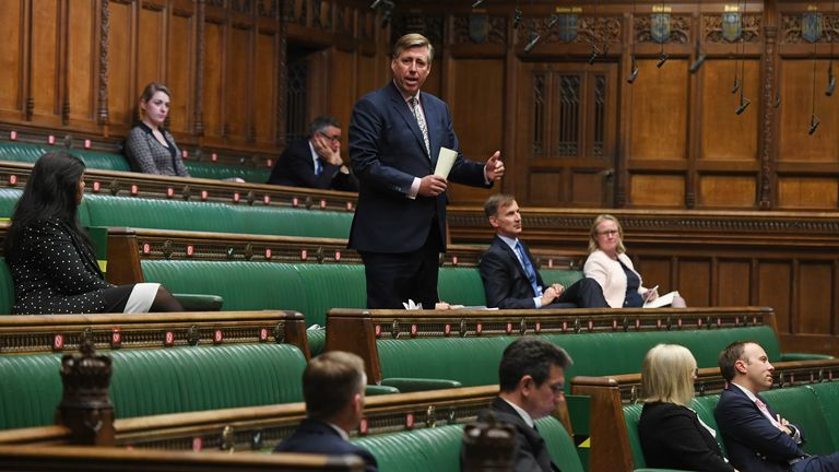 Sir Graham Brady Pic: UK Parliament/Jessica Taylor