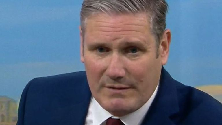 Sir Care Starmer says the government has lost control of coronavirus testing
