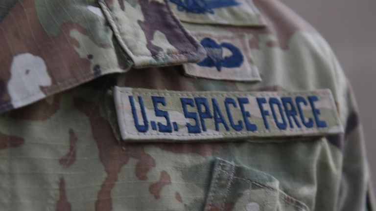 The US Space Force is deploying to the Middle East. Pic: US Air Force