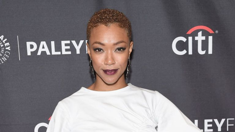Sonequa Martin-Green is the first black woman to lead a Star Trek TV series