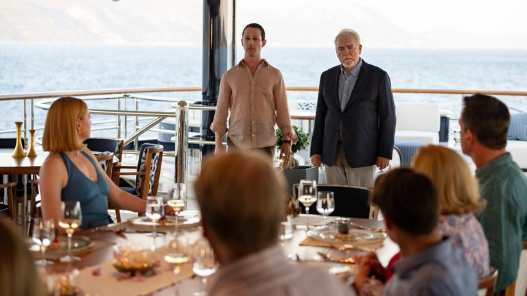 Season Two Finale of Succession. Pic: Sky/ HBO