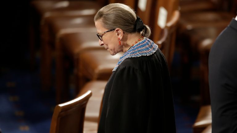 Justice Ruth Bader Ginsburg was a prominent women's rights advocate