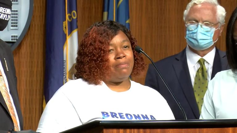 Tamika Palmer, mother of Breonna Taylor reflects on the new settlement as only one step in gaining justice in Louisville, Kentucky.