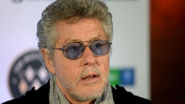 The Who's Roger Daltrey is a patron for the cancer charity
