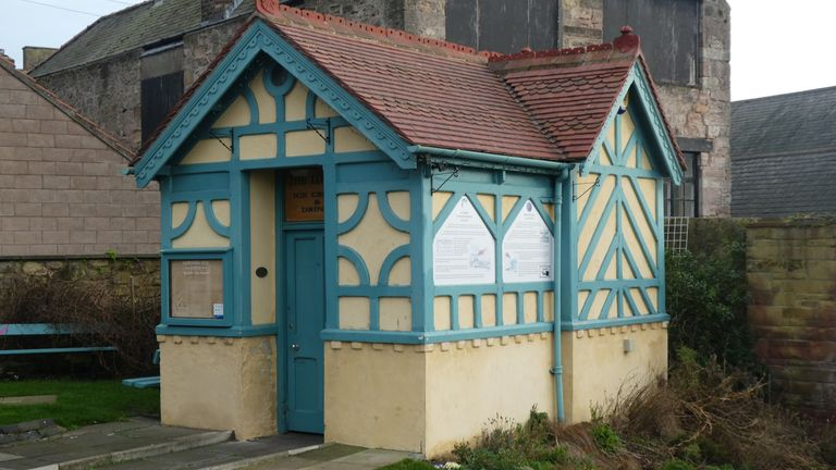 This toilet in Berwick-upon-Tweed, Northumberland, has been given listed status