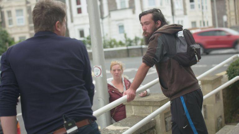 Tom Allen in Weston Super Mare