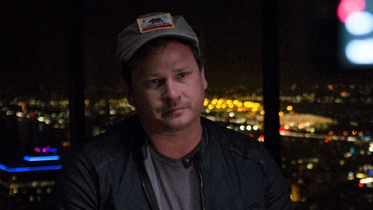 Tom DeLonge on Sky HISTORY's Unidentified. Pic: Andrew Cagle