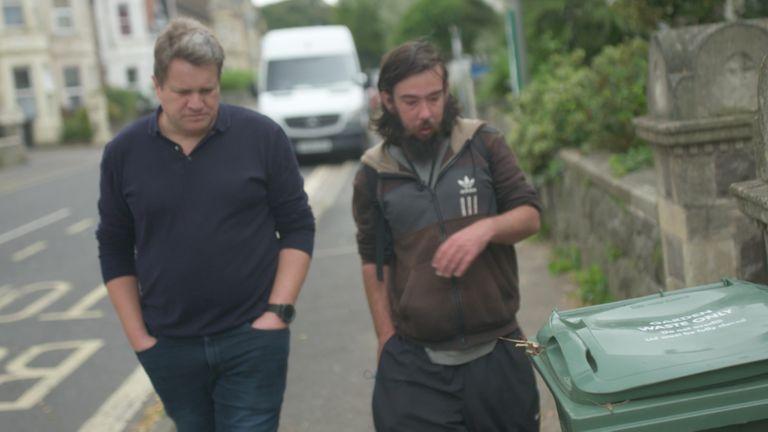 Nick Martin and Tom Allen from Weston Super Mare