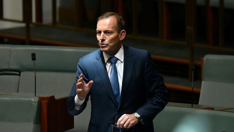 Tony Abbott served as Australian PM between 2013 and 2015