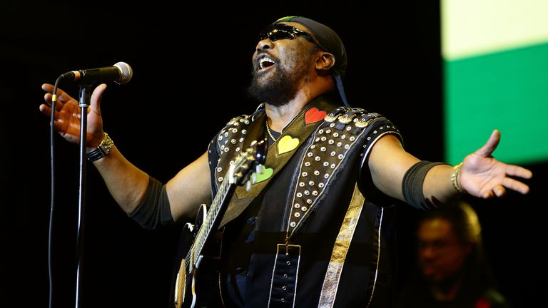 Toots Hibbert of Toots and the Maytals performs in September 2019