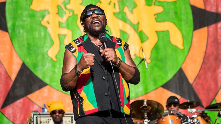 Toots Hibbert of Toots and the Maytals performs  in 2018