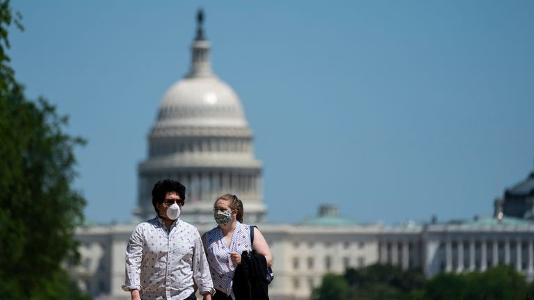 The first coronavirus death was recorded in Washington in February