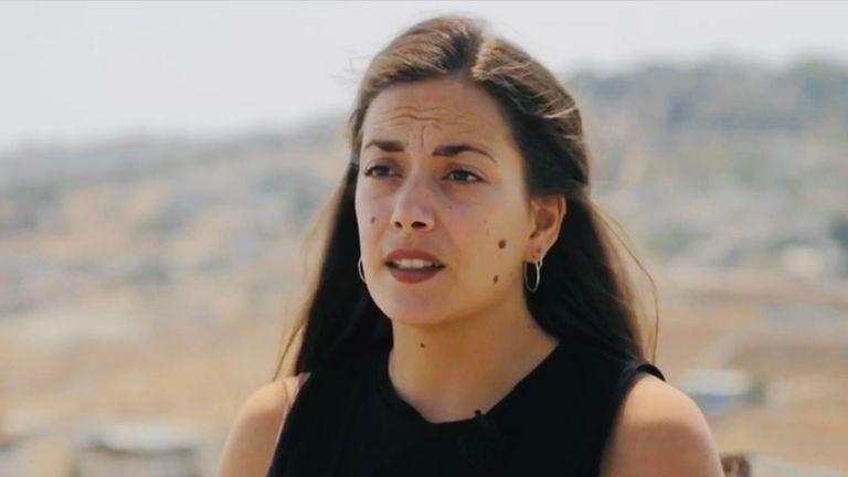 Rachel Gordon believes the West Bank is Israeli territory