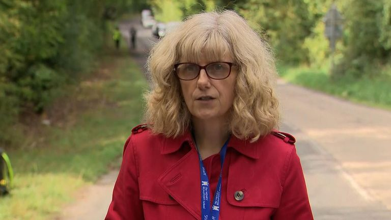 Henry Beaufort School headteacher, Sue Hearle, called it a 'distressing' incident