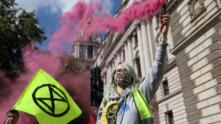 Campaigners have kicked off 10 days of climate change protests in London