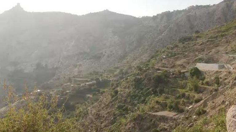 The bombing took place in the remote village of Washah near the Yemeni-Saudi border